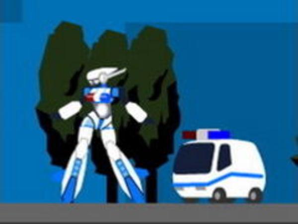 Bild zu Action-Spiel Cyber Swat