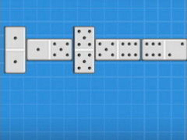 Bild zu Denken-Spiel Domino 2