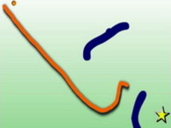 Bild zu Denken-Spiel Draw Bounce