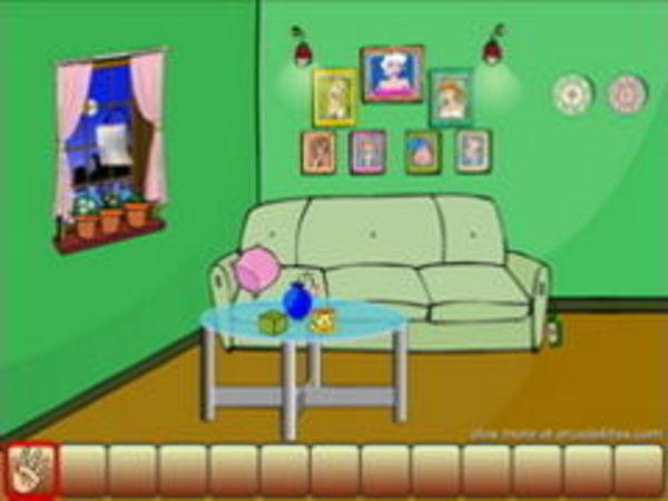 Bild zu Denken-Spiel Escape Green Room