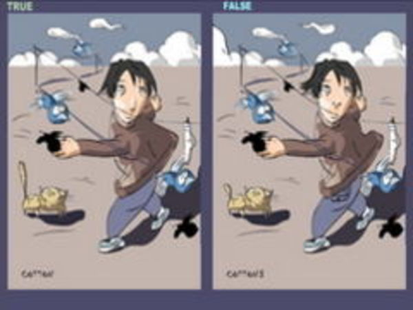 Bild zu Denken-Spiel Find the 4 Differences