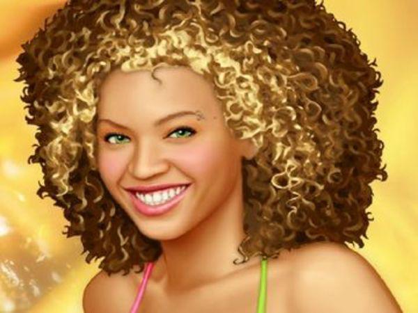 Bild zu Mädchen-Spiel Beyonce Makeover