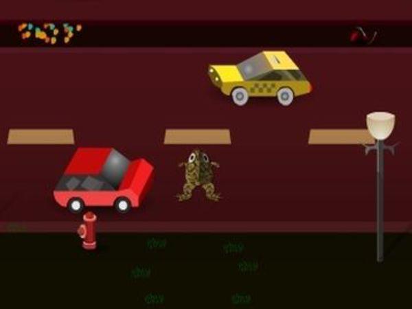 Bild zu Geschick-Spiel Frog in the City