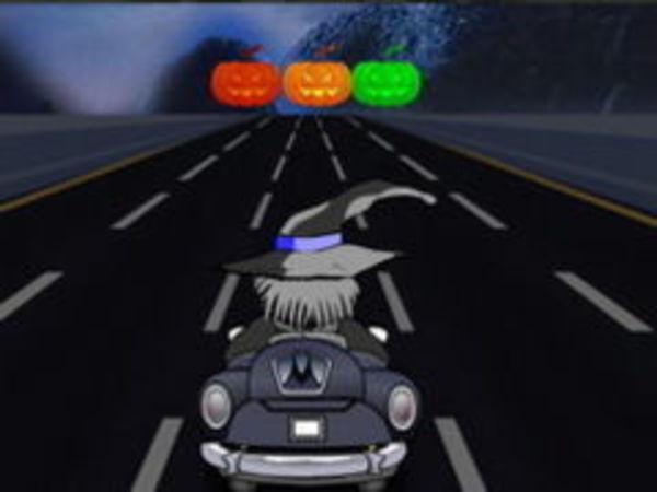 Bild zu Rennen-Spiel Halloween Ride