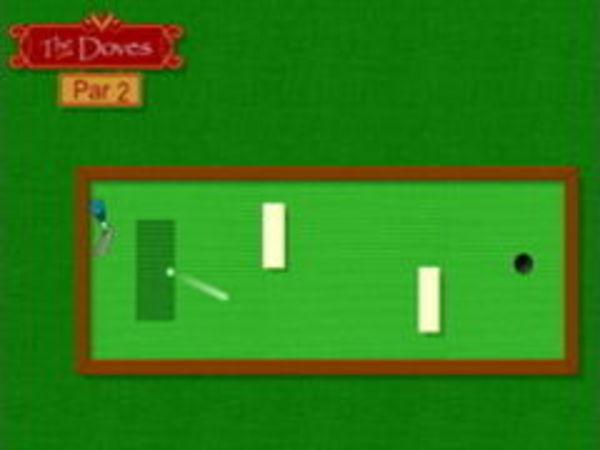 Bild zu Top-Spiel Happy Holidays Minigolf