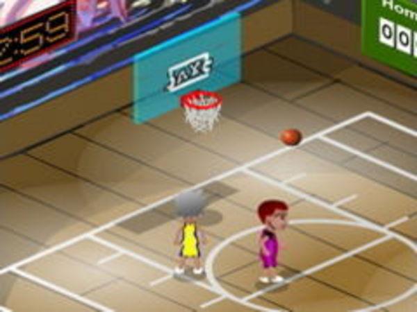 Bild zu Top-Spiel Hard Court Basket