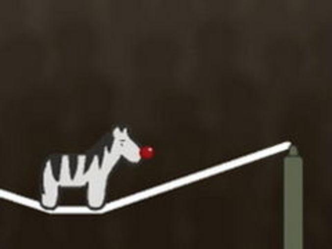 James the Circus Zebra