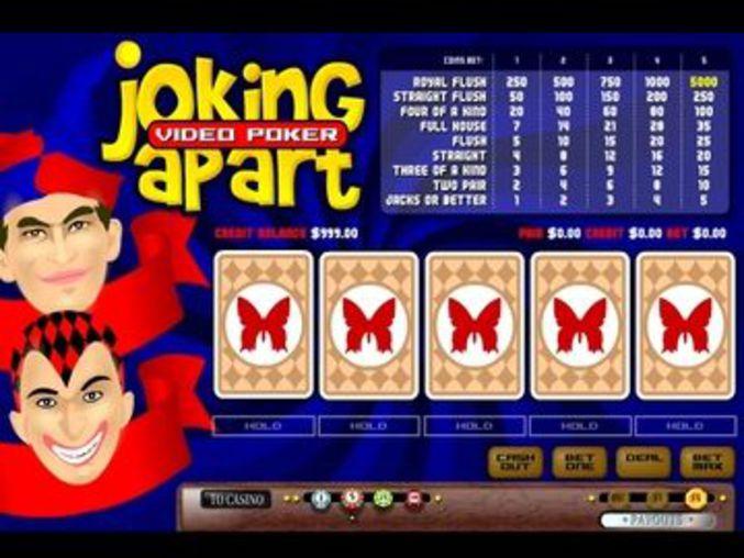 Joking Apart Videopoker