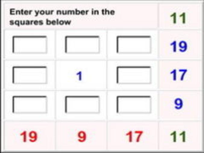Magical Math