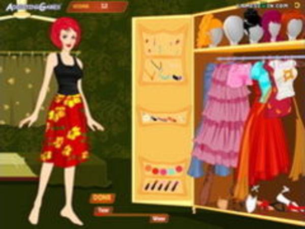 Bild zu Mädchen-Spiel Make Me Over