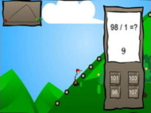 Bild zu Denken-Spiel Math Mountain