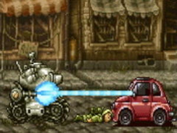 Bild zu Action-Spiel Metalslug Rampage