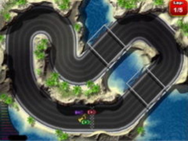 Bild zu Sport-Spiel Micro Racers 2