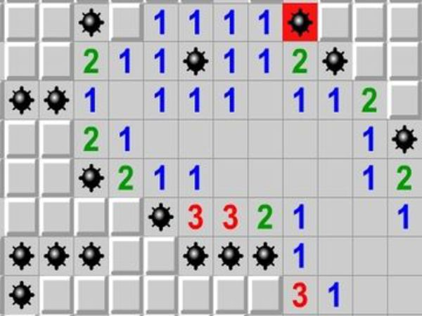 Bild zu Klassiker-Spiel Mine Sweeper