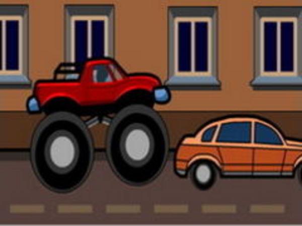 Bild zu Geschick-Spiel Monstertruck Curfew