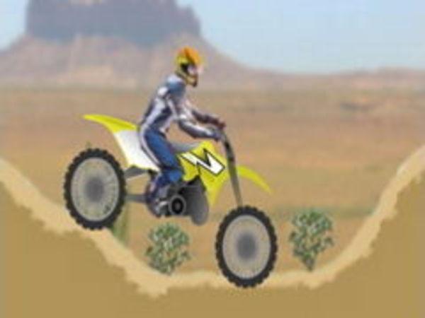 Bild zu Geschick-Spiel Motorbike