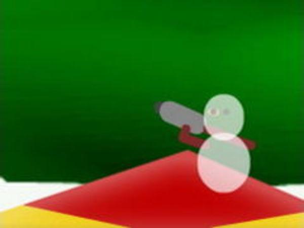 Bild zu Action-Spiel Ornament Wars