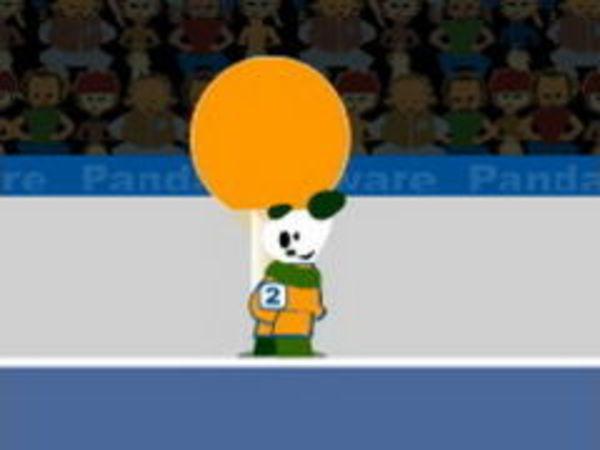 Bild zu Sport-Spiel Panda Ping Pong