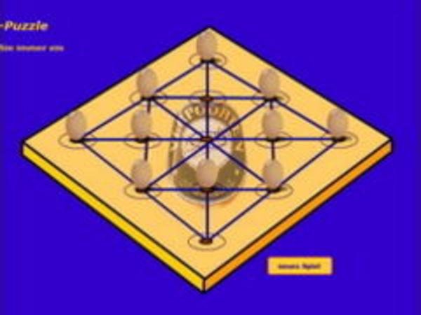 Bild zu Denken-Spiel Peg Puzzle