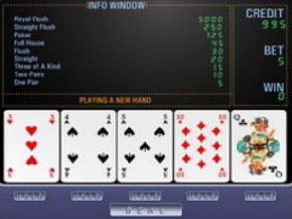 Bild zu Karten & Brett-Spiel Poker Machine
