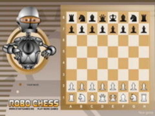 Bild zu Karten & Brett-Spiel Robo Chess