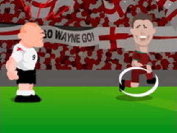 Bild zu Sport-Spiel Rooney Rampage