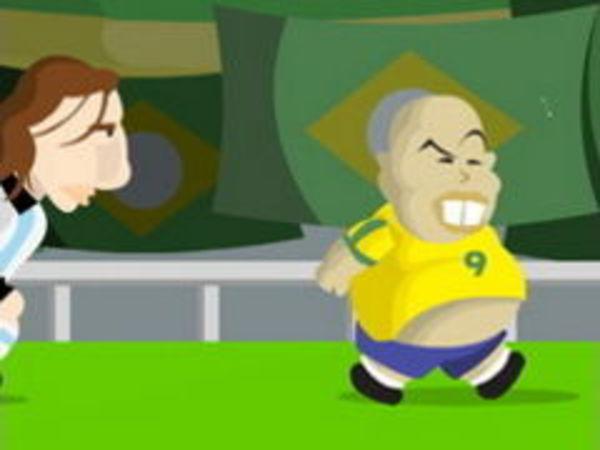 Bild zu Sport-Spiel Run Ronaldo Run