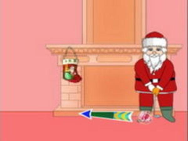 Bild zu Sport-Spiel Santa Golf