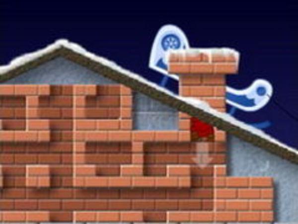 Bild zu Top-Spiel Santa Chimney Trouble