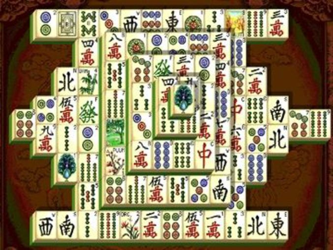 Shanghai Dynasty Mahjongg
