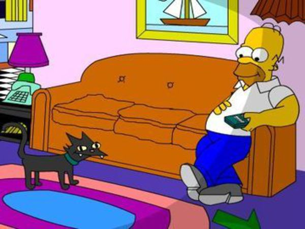 Bild zu Abenteuer-Spiel Simpsons Interactive