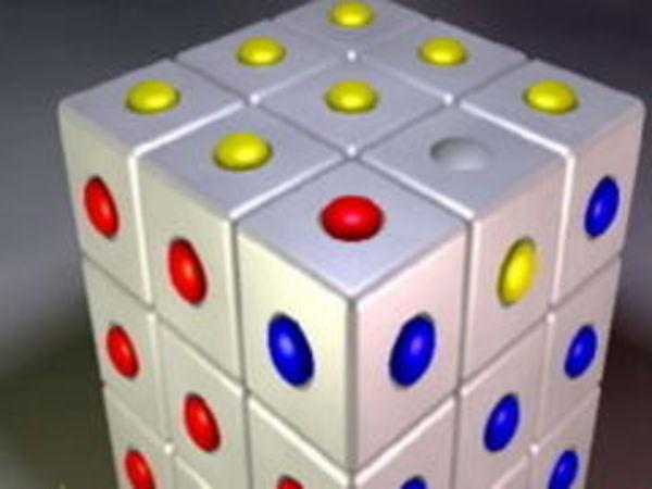 Bild zu Denken-Spiel Sloyd Cube