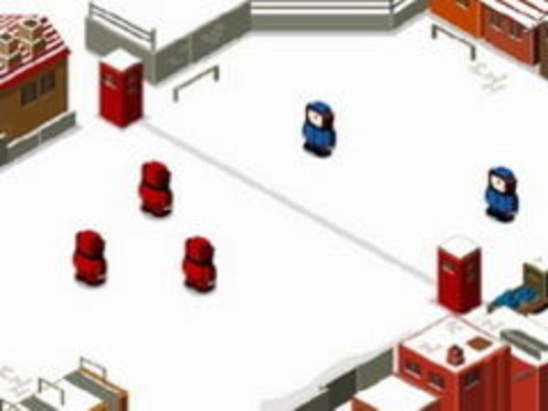 Bild zu Rennen-Spiel Snowfight 2