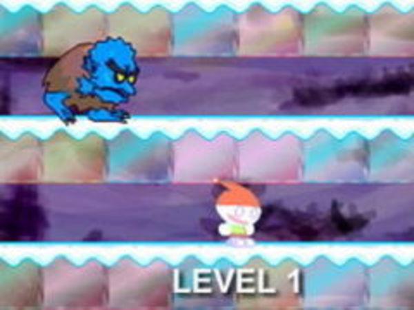 Bild zu Geschick-Spiel Snow Trouble