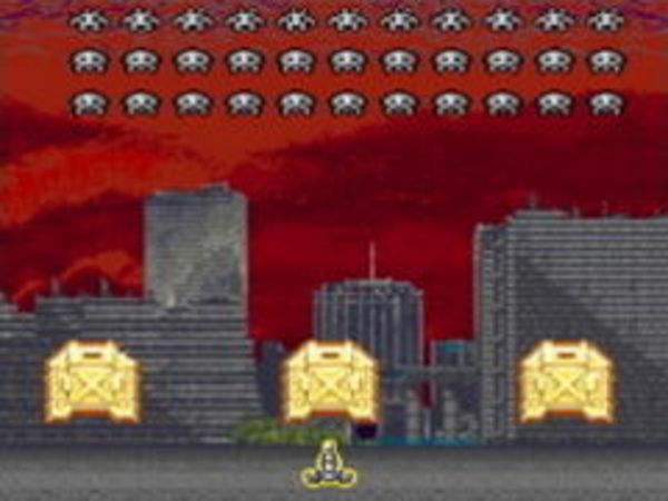 Bild zu Geschick-Spiel Space Invaders 2