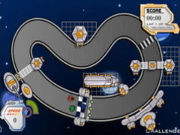 Bild zu Rennen-Spiel Space Race