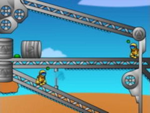 Bild zu Geschick-Spiel Spring Robot
