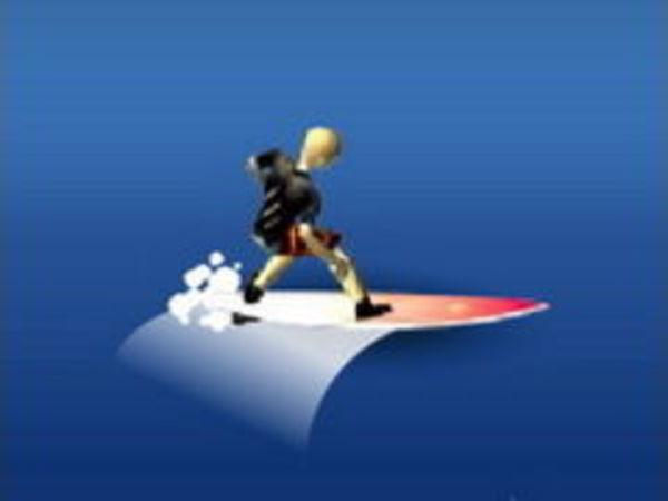Bild zu Rennen-Spiel Wave-Surfer
