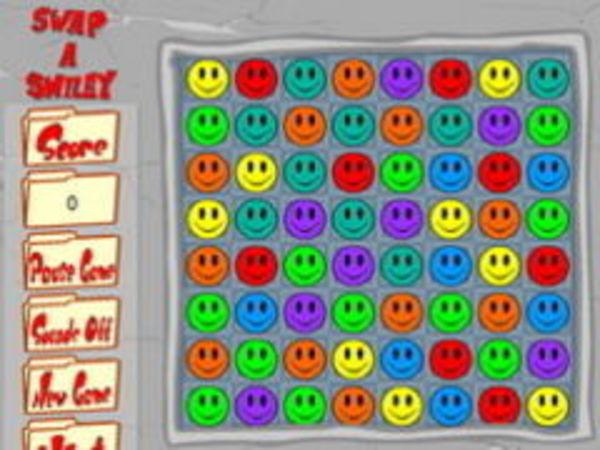 Bild zu Denken-Spiel Swap Smiley