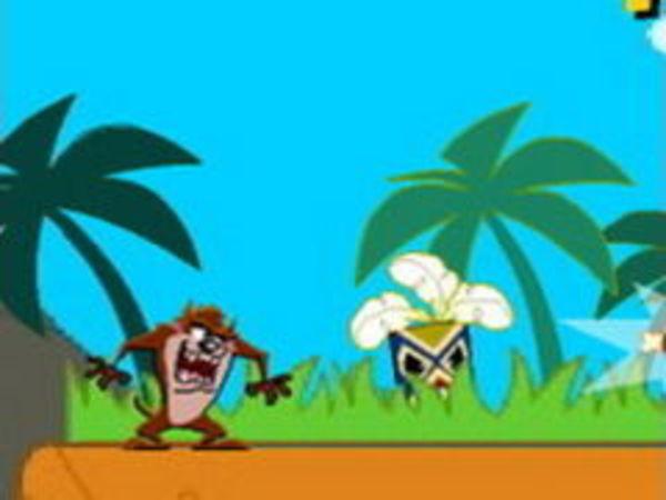 Bild zu Geschick-Spiel Taz Tropical Havoc
