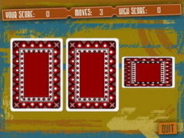 Bild zu Karten & Brett-Spiel Three Card Monte