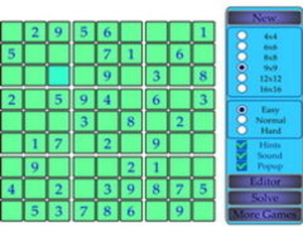 Bild zu Denken-Spiel Sudoku Online