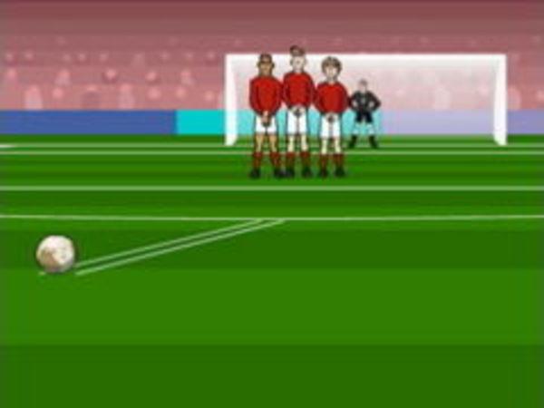 Bild zu Sport-Spiel Super Freekicks
