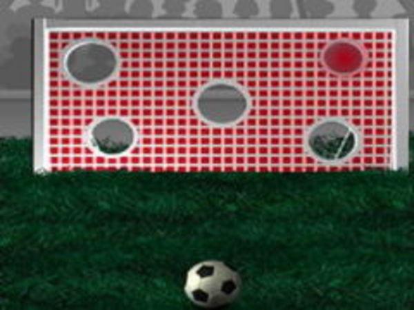 Bild zu Geschick-Spiel Torwand Schießen