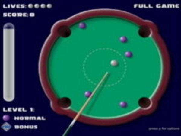 Bild zu Geschick-Spiel Rund Pool