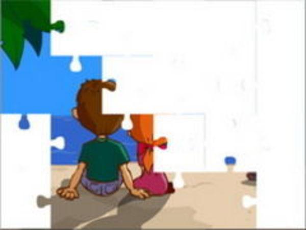 Bild zu Denken-Spiel Valentines Puzzle