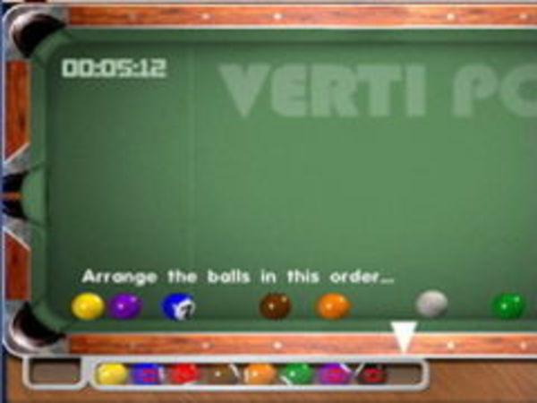 Bild zu Geschick-Spiel Verti-Pool