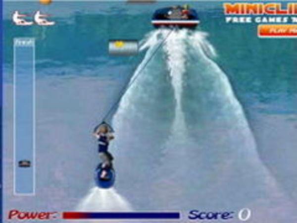 Bild zu Rennen-Spiel Wakeboarding
