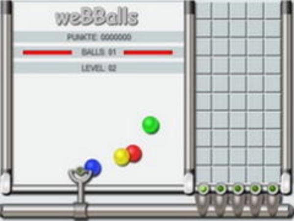 Bild zu Kinder-Spiel Web Balls