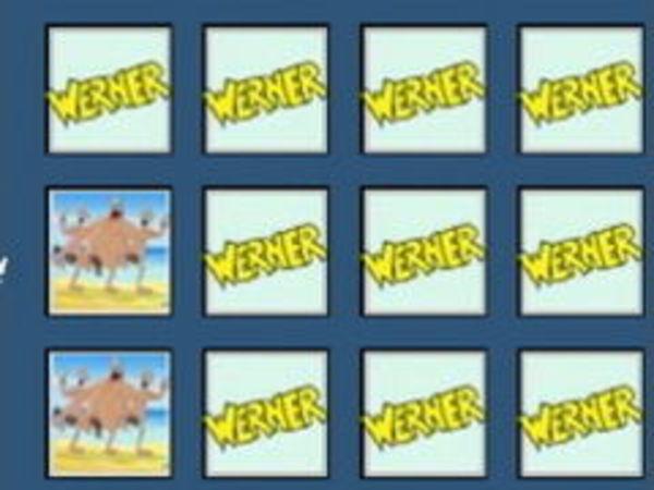 Bild zu Denken-Spiel Werner Kartenmerken